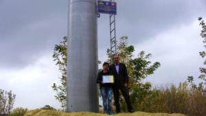 В Ивановке открыт новую водонапорную башню