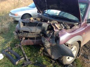 В Изюмском р-н в результате ДТП один человек погиб и шесть получили травмы