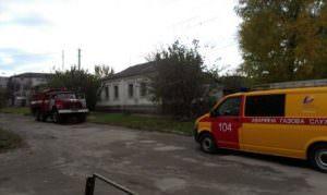 В городе Изюме за сутки произошло два пожара
