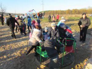 В районе улицы Приборостроителей открыта детская площадка