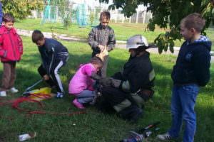 Изюмские спасатели провели общественную акцию
