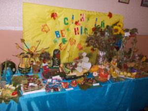 Состоялась выставка в детских садах изделий из природных материалов-4