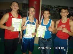 В Изюме состоялся турнир с боксу