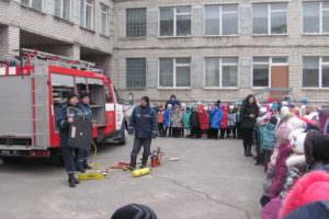 В г. Изюме спасатели провели акцию «Предотвратить. Спасти. Помочь»