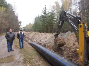 Замена Букинського водопровода к городу Изюм благодаря городским властям