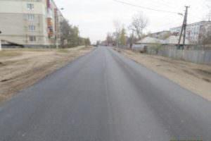 Отремонтирован наиболее разрушенный участок дороги Безлюдовка - Хорошево