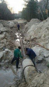 Отчет Водо-Канала г. Изюма о проделанной работе