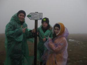 Ученики Изюмщины 8-11 классов покорили гору Говерлу