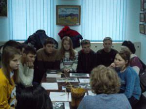 Школьники почтили память жертв Голодоморов