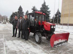 Автопарк КП «Благоустройство г. Изюма» пополнился новой спецтехникой