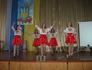 Изюмском профессиональном лицее отпраздновали День Вооруженных Сил Украины