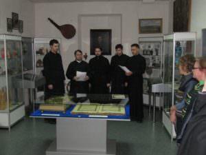 Открыто выставку в музее имени Н.В. Сибилёва Напрестольного Евангелие