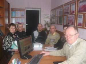 Состоялось заседание в Изюмском профессиональном лицеи по профессиям «Каменщик», «Штукатур»