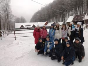 Изюмчани ученического самоуправления путешествовали в Закарпатской области