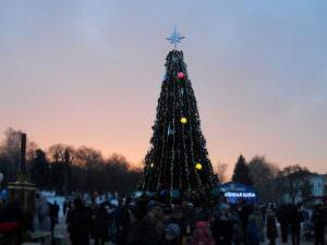 Как в городе Изюме отпраздновали Архиерейскую елку