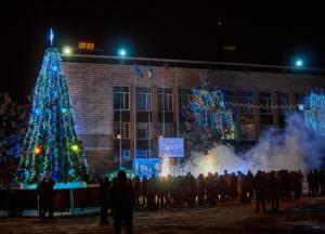 Новый год 2017 в городе Изюме
