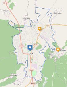 Успехи районов обобщены на интерактивной карте мини-проектов