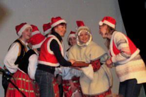 Фестиваль «С Новым Годом вокруг света» Изюмчанами