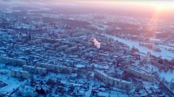 Город Изюм с высоты птичьего полета (фото, видео)