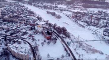 Город Изюм с высоты птичьего полета (фото, видео)-7