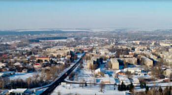 Город Изюм с высоты птичьего полета (фото, видео)-9