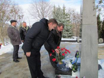 В Изюме почтили память погибших воинов в Афганистане
