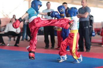 Изюмчане стали победителями на всеукраинских соревнованиях по кикбоксингу