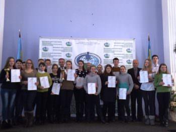 Ученик Изюма принял участие в всеукраинском конкурсе изобретательских и рационализаторских проектов