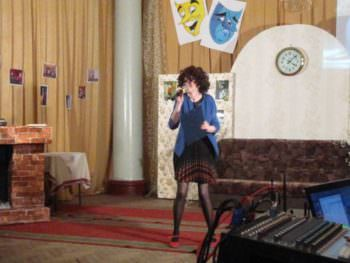 March 27, in the building of the City Palace of culture there was held a Theatrical performance-3