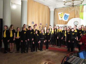 March 27, in the building of the City Palace of culture there was held a Theatrical performance-4