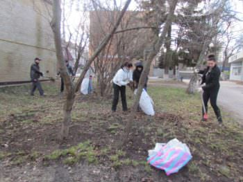 The Izyum was the first spring cleanup-1