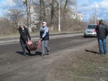 The Izyum was the first spring cleanup-3