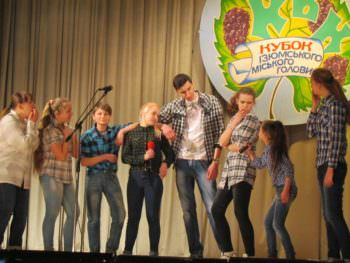 The Izyum were held at the KVN festival the Cup of the mayor of Izyum 2017-7