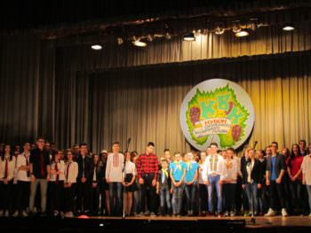 The Izyum were held at the KVN festival the Cup of the mayor of Izyum 2017-8