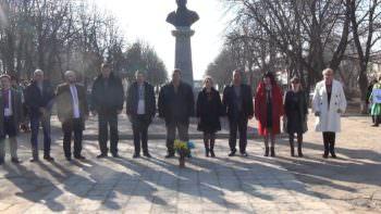 Руководство города присоединился к всеукраинского флешмоба «Global Shevchenko»