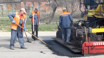 In the city of Izyum approved the list of streets which will be repaired in the first place