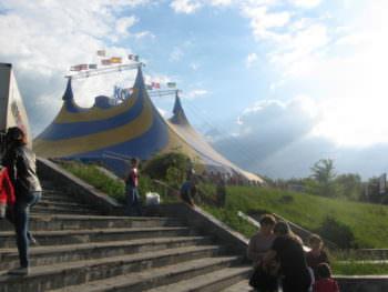 Выступление цирка Италии Кобзов в городе Изюме 26 мая 2017 года-7
