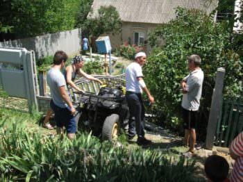 17-летний парень на квадроцикле врезался в забор в с. Студенок