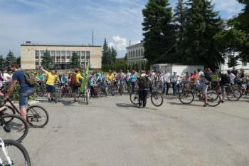 27 мая в городе Изюме состоялся велодень