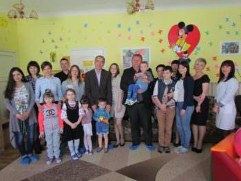 Charity Fund of Sergiy Zhadan visited iziums'kyi Tsentr reabilitatsii detey