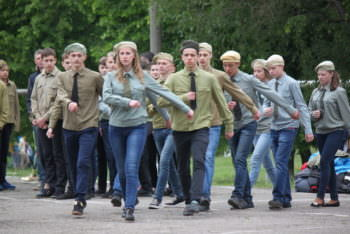 Izyum city passed the I stage of all-Ukrainian youth military-Patriotic game-1