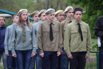 Город Изюм прошел I этапа Всеукраинской детско-юношеской военно-патриотической игры «Сокол» («Джура»)