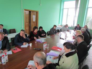 В Изюме состоялся круглый стол по созданию госпитального округа с центром в нашем городе