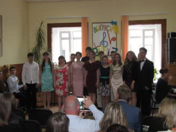 At the Music school held a graduation Izyum-1