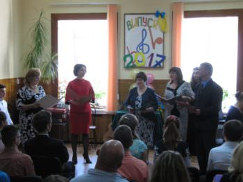 At the Music school held a graduation Izyum-2