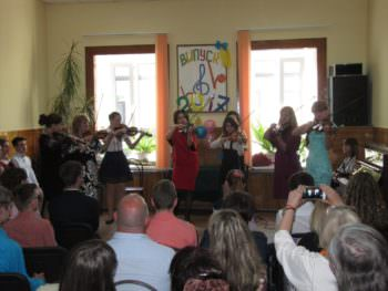 At the Music school held a graduation Izyum-3