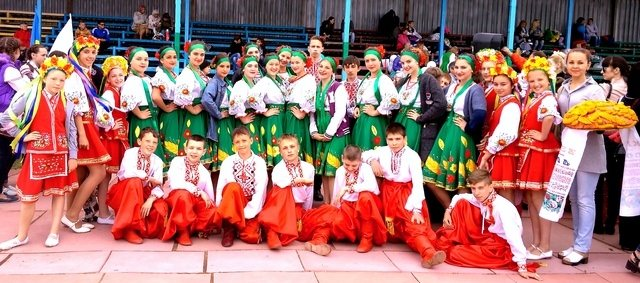 Танцевальный конкурс в украине