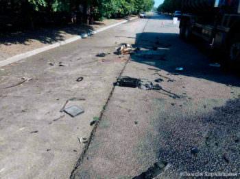 В городе Изюме погибли двое девушек в ДТП под колесами BMW