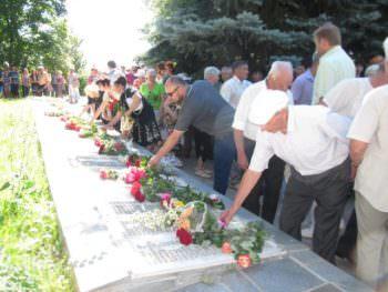 22 июня прошел митинг ко Дню скорби и чествования памяти жертв Войны в городе Изюме