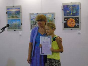 Маленькие Изюмчани заняли призовые места в конкурсе детского рисунка «Світ і Я»